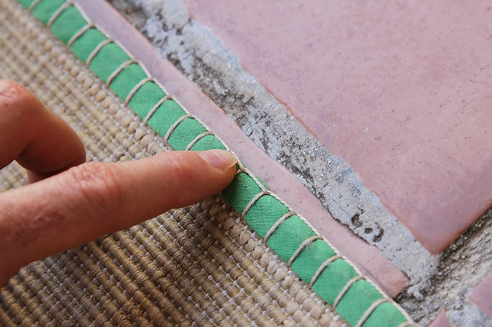 IKEA Hack Mat Repair - by Kirsty at Bonjour Quilts