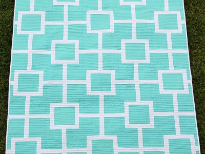 Lattice Love Quilt (with a little tutorial)
