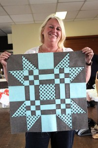 Camille Roskelley's Red Letter Day quilt class in Brisbane, Australia