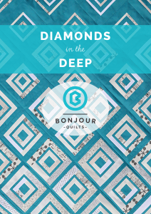 Diamonds in the Deep Quilt Pattern