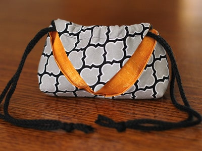 Halloween Drawstring Treat Bag Tutorial
