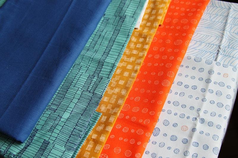 Beautiful Carolyn Friedlander fabric, Doe, perfect for a modern quilt
