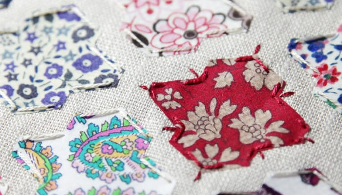 scarlet Libery of London fabric seen at Bonjour Quilts