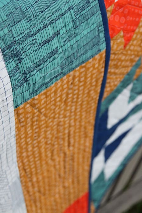 Go West - a modern quilt pattern from Bonjour Quilts