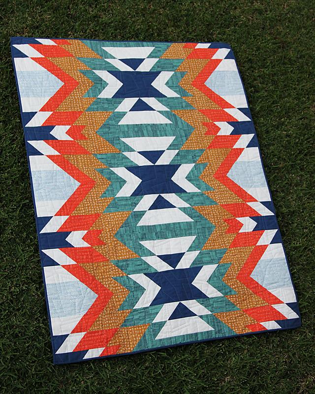 Go West Bonjour Quilts