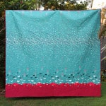 Whimicol quilt by Kirsty at Bonjour Quilts , made with Jeni Baker's Nordika line