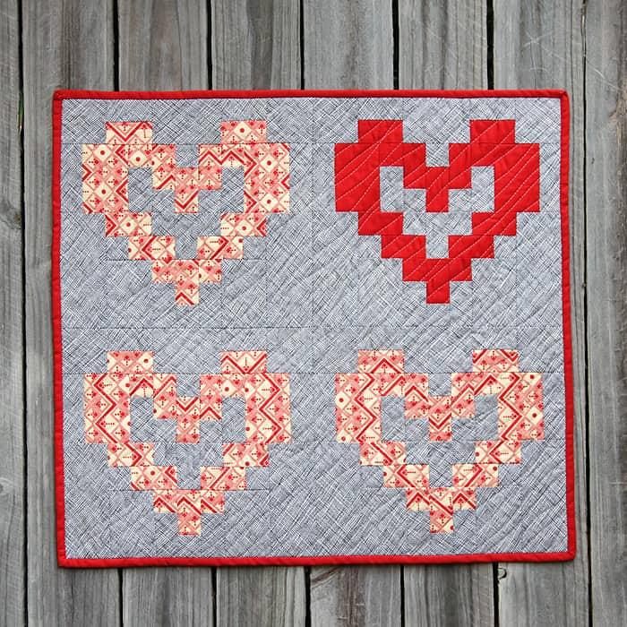 HeartQuiltBlockPattern1