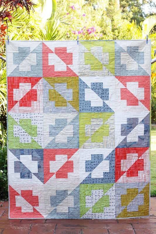 Plus Side Quilt With A Twist Bonjour Quilts