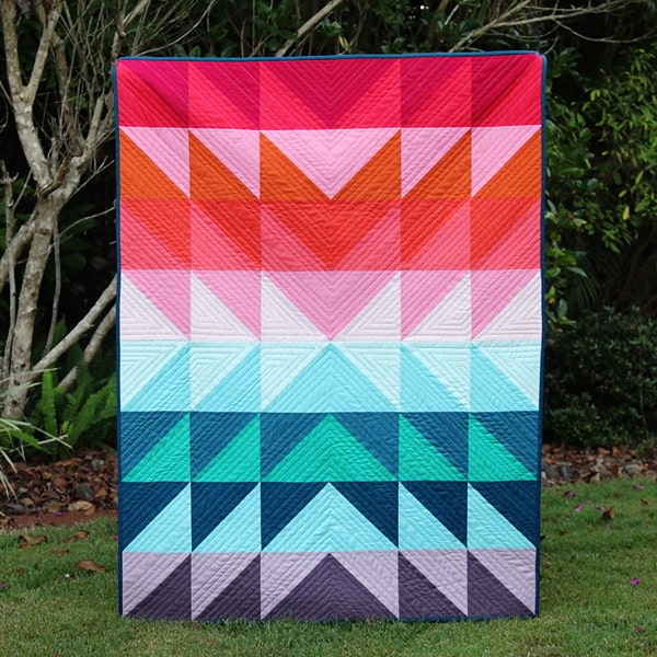colour explosion quilt tutorial bonjour quilts