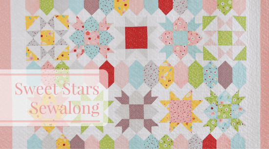 Peta from She Quilts Alot's beautiful Sweet Stars pattern