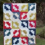 Plus Side Quilt – With a Twist