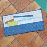 Austin House by Carolyn Friedlander as a mini quilt
