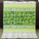 Green Quilt – 2017 Pantone Quilt Challenge
