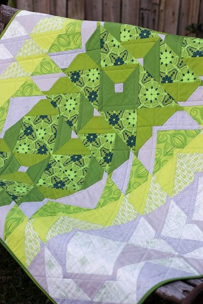 Greenery 2017 Quilt by Kirsty at Bonjour Quilts