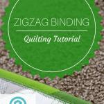 Zigzag Quilt Binding Tutorial