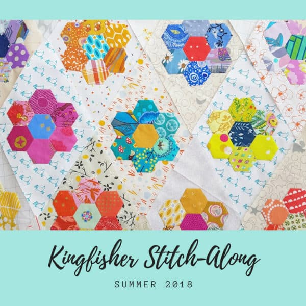 a6f6fe2632fa Machine Applique tutorial for the Kingfisher Stitch Along at Bonjour Quilts