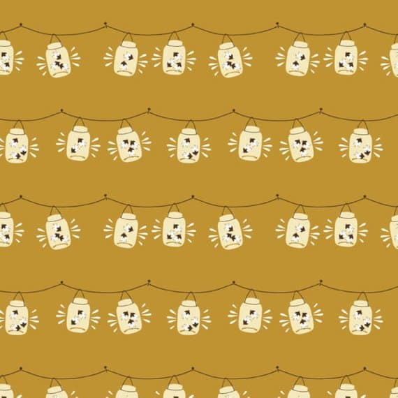 Cute fabric choice for a Christmas tree applique mini quilt
