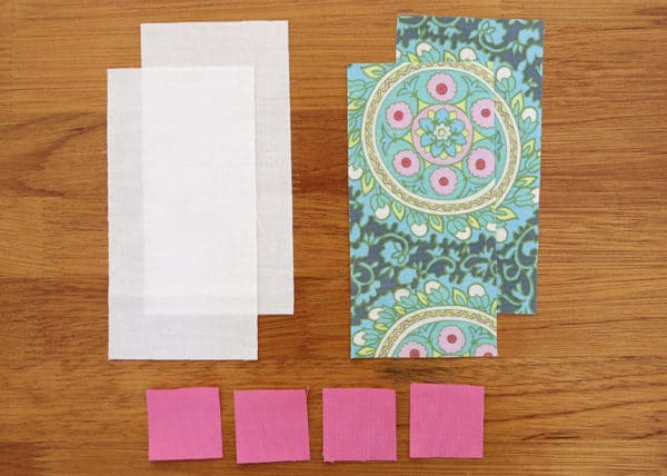 Diamond quilt pattern blocks - a quilt tutorial by Bonjour Quilts.