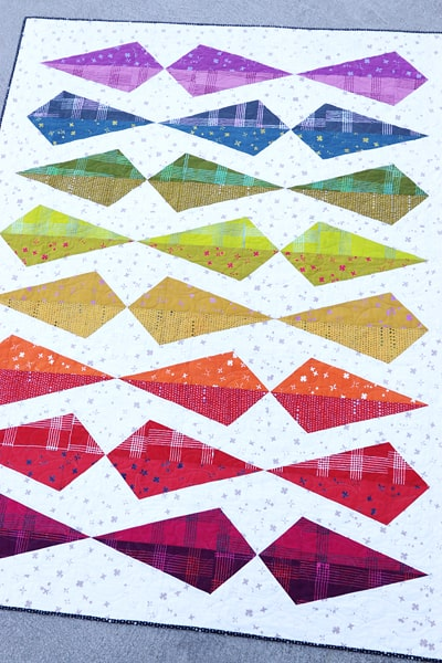 Gemology quilt pattern (fat quarter friendly) by Bonjour Quilts