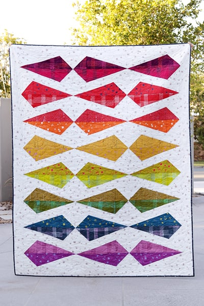 Gemology quilt pattern (fat quarter friendly) by Bonjour Quilts