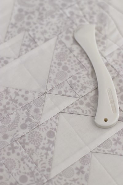 low volume fabric flying geese quilt blocks