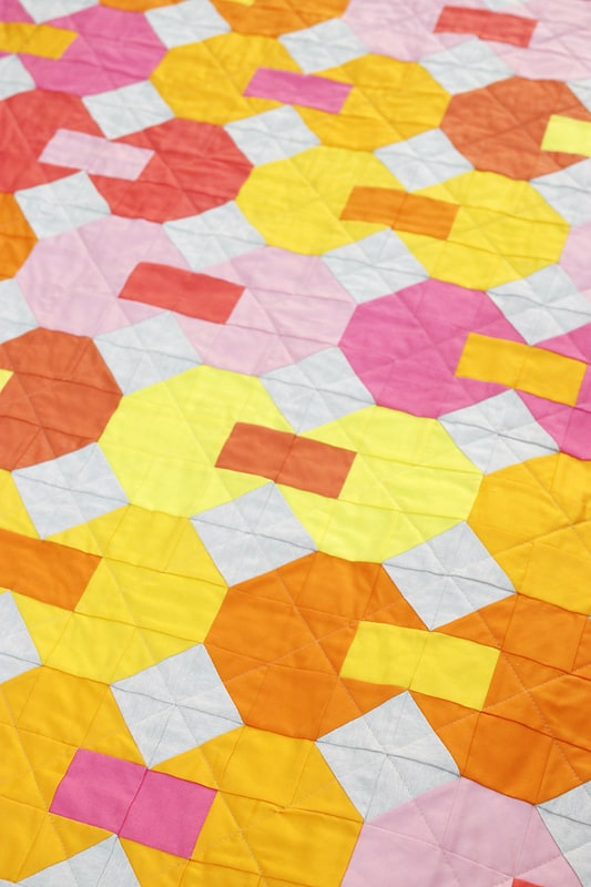 Snowball Party Quilt Pattern