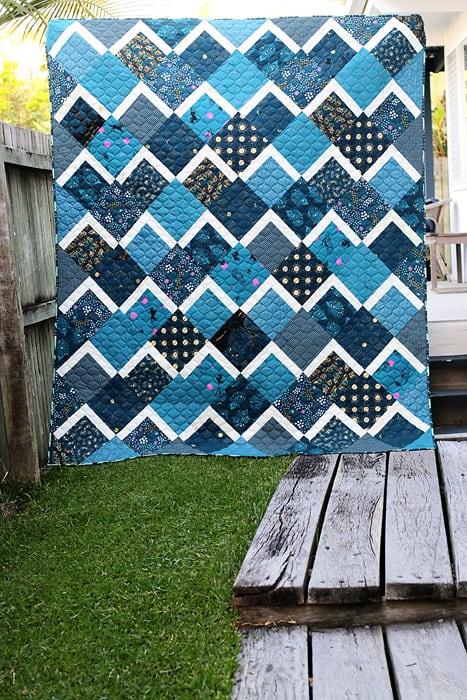 Bonjour Quilts downloadable quilt pattern image